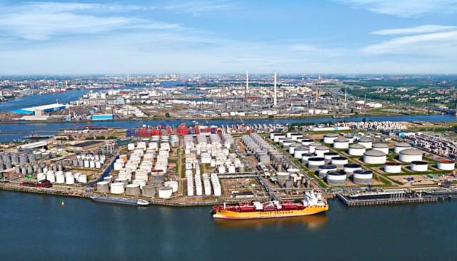 Maersk: παραγωγή πράσινων καυσίμων στο Ρότερνταμ