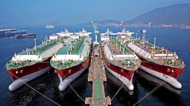 Περισσότερες παραγγελίες γιαLNG Carriers