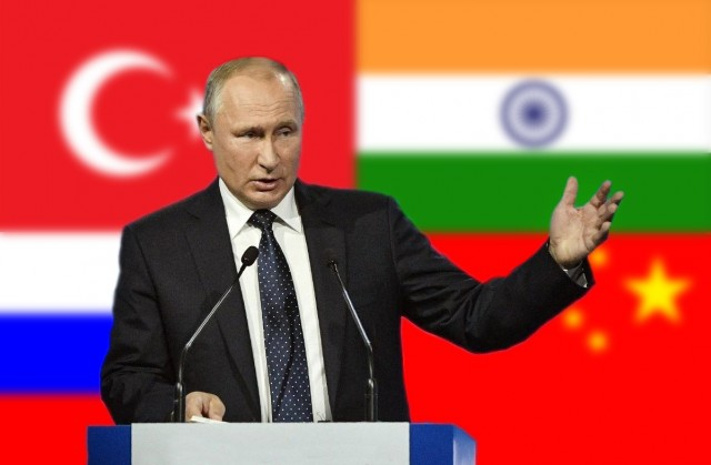Πούτιν: κλείνει το μάτι σε Πεκίνο, Αγκύρα και Νέο Δελχί