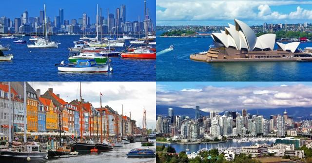 Οι πόλεις-λιμάνια με την καλύτερη ποιότητα ζωής