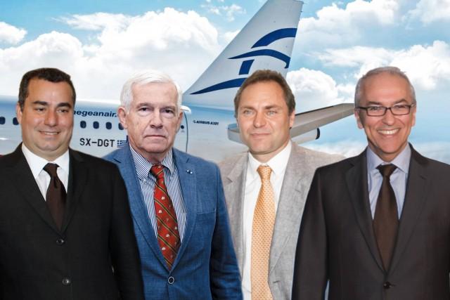 Tα ηχηρά ονόματα της Aegean Airlines