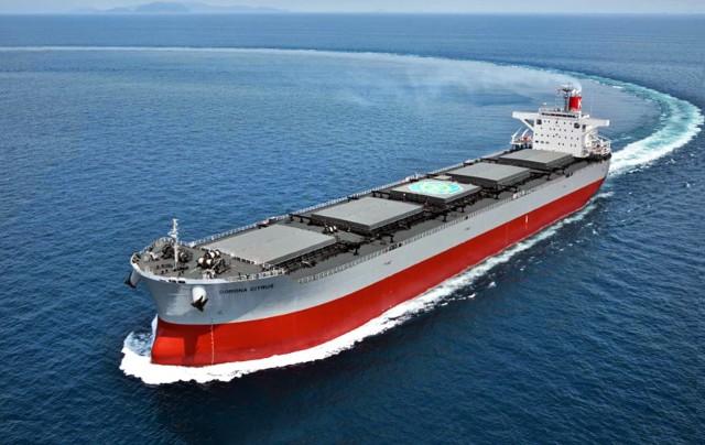K Line: παραλαβή ενός φιλικού προς το περιβάλλον φορτηγού πλοίου