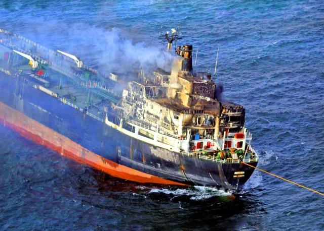 Πυρκαγιά ξέσπασε σε πλοίο στη Νορβηγία