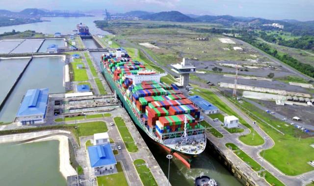 TRITON: ελληνικών συμφερόντων το μεγαλύτερο πλοίο που διέσχισε τον Παναμά