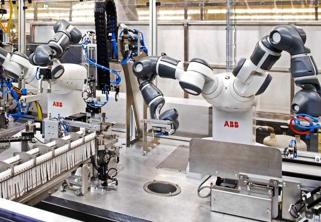 ABB: Το μεγαλύτερο εργοστάσιο κατασκευής ρομπότ προ των πυλών