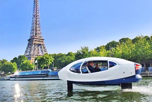Seabubbles: τα νέα ταξί του Παρισιού