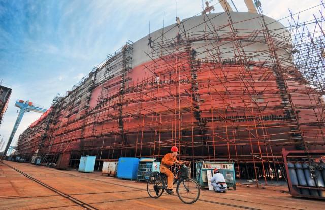 Σημαντικά μειωμένες οι παραγγελίες στα κινεζικά ναυπηγεία