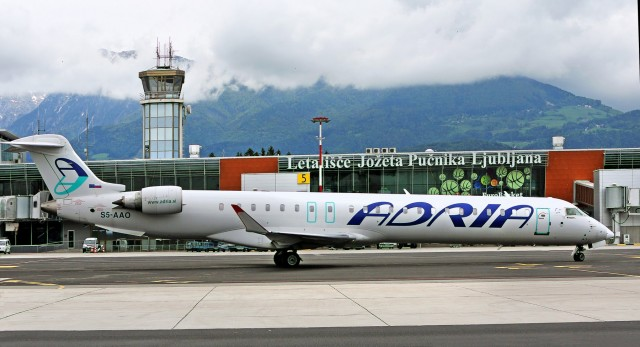 Καθηλωμένα τα αεροπλάνα της Αdria Airways