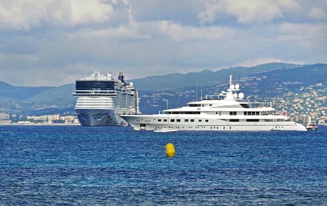 Κάννες: «Αντίο» στα ρυπογόνα κρουαζιερόπλοια