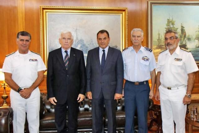 Π. Λασκαρίδης: Ακόμα μία δωρεά στο Πολεμικό Ναυτικό