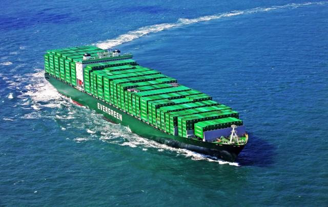 Με 23.764 TEUs τα μεγαλύτερα containerships για την Evergreen