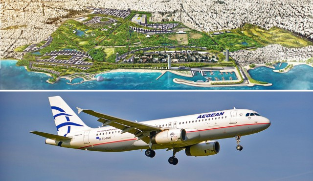 Aegean Airlines: Επίσημος αερομεταφορέας για το Ελληνικό