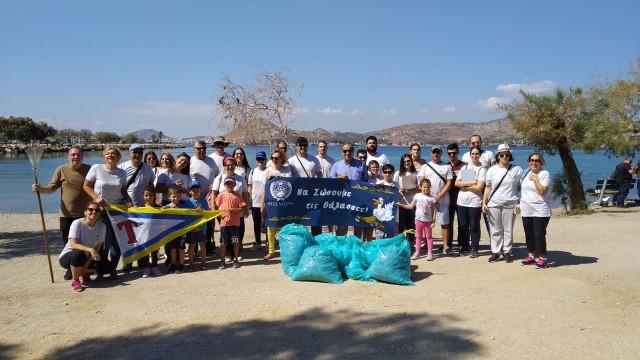 Συνεχίζεται ο μήνας δράσης της HELMEPA με καθαρισμούς ακτών και βυθού