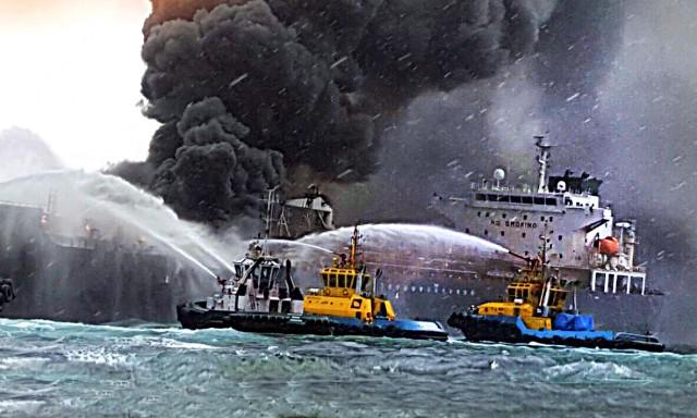 Έκρηξη σε ιρανικό δεξαμενόπλοιο