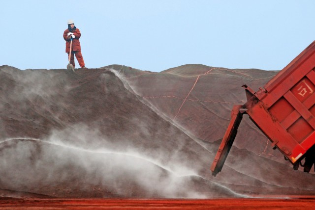 Αύξηση της παραγωγής σιδηρομεταλλεύματος για την «ακόρεστη» Κίνα