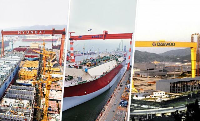 Oι… αγωνίες των νοτιοκορεατικών ναυπηγείων