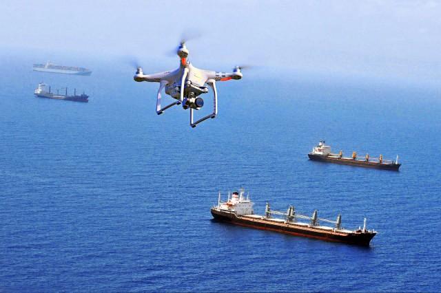Drones: Συμβολή στον έλεγχο καυσαερίων των πλοίων