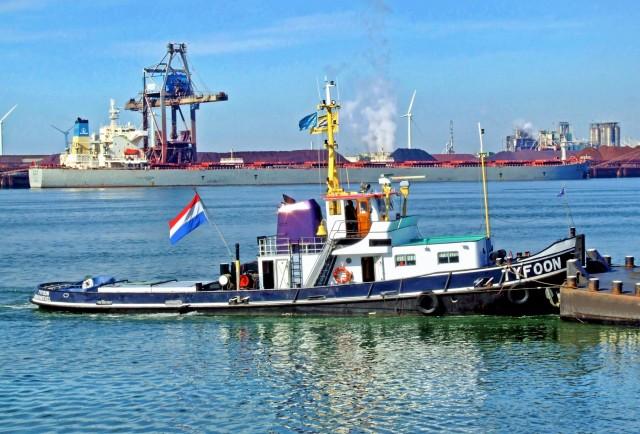 Οριακή αύξηση των φορτίων στο λιμάνι του Ρότερνταμ