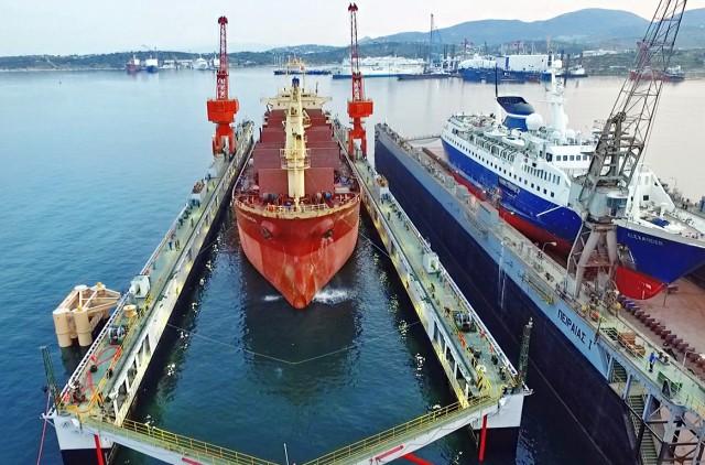 Νέα εποχή για τον δεξαμενισμό πλοίων στον Πειραιά