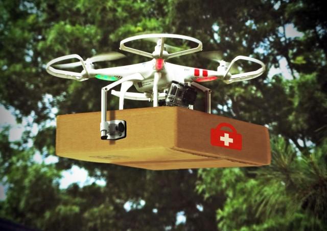 UPS: Drones και φάρμακα… εξ ουρανού