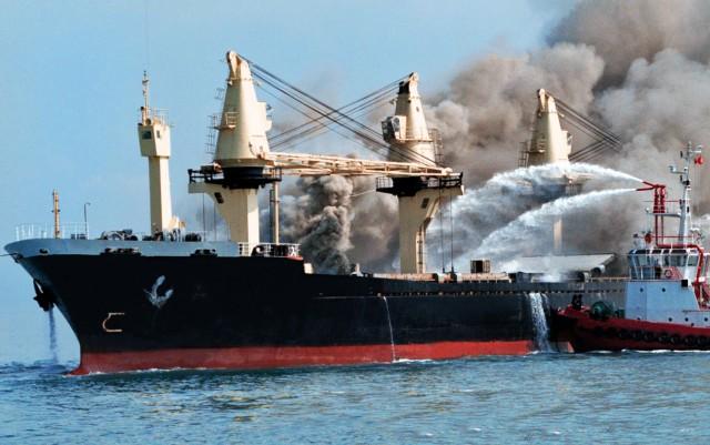 Έκρηξη σε bulk carrier
