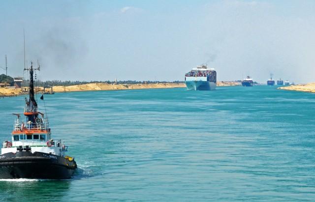 Διώρυγα του Σουέζ: Ρεκόρ μηνιαίων εσόδων