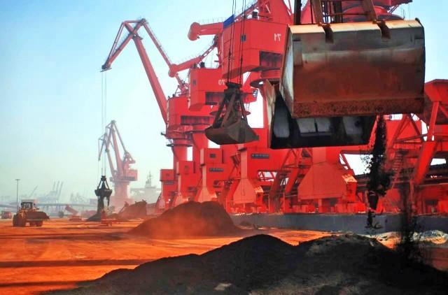 Πτώσης συνέχεια για τις κινεζικές εισαγωγές iron ore