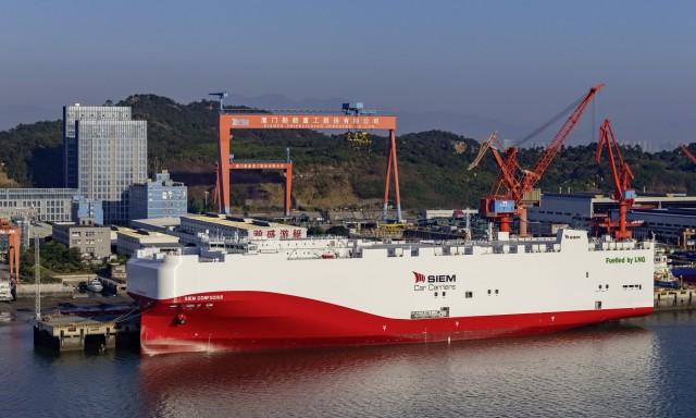 «Πράσινα» πλοία για τη μεταφορά αυτοκινήτων Volkswagen