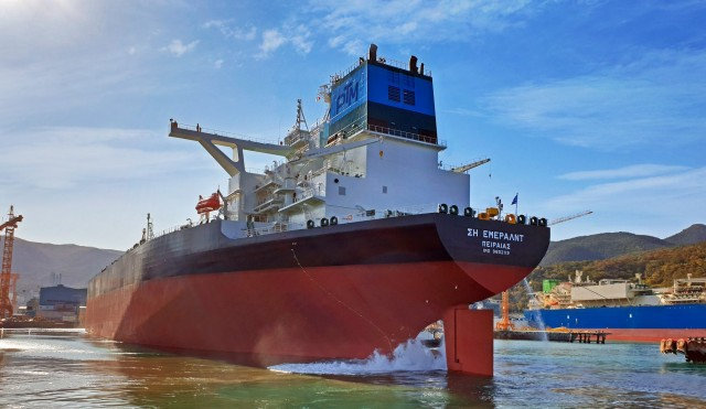 Sea Emerald: Ένα ακόμη νεότευκτο VLCC παρέλαβε η Pantheon Tankers