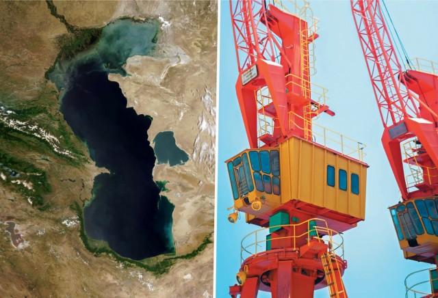 Άνοδος των συνδυασμένων μεταφορών προς την Κασπία Θάλασσα