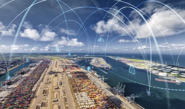 Νέα ψηφιακή εφαρμογή για ελλιμενισμό πλοίων στο Ρότερνταμ