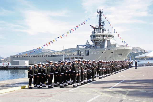 "P. Laskaridis donation to the Greek Navy: ""We owe the country, not the other way around"""