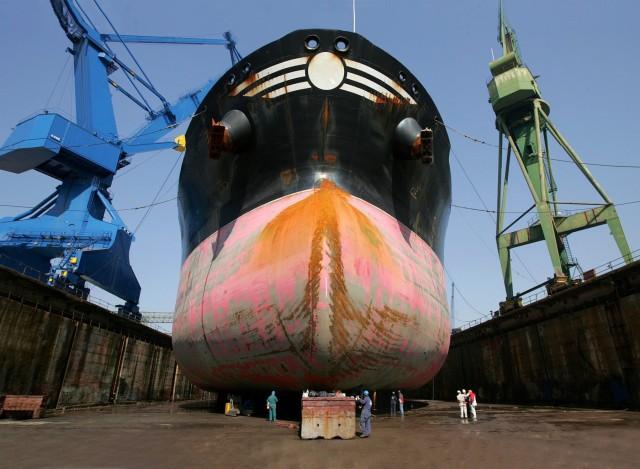 Συγχωνεύσεων συνέχεια στη ναυπηγική βιομηχανία