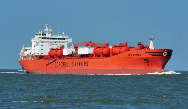 Odfjell: Επέκταση του στόλου των chemical tankers ανοξείδωτου χάλυβα