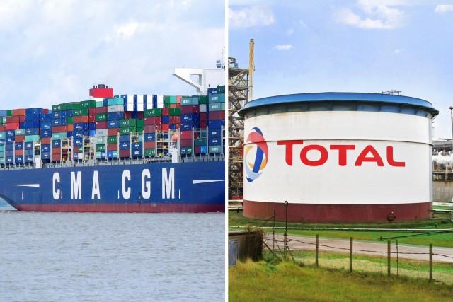 Συμφωνία Total-CMA CGM για την τροφοδοσία LNG καυσίμου