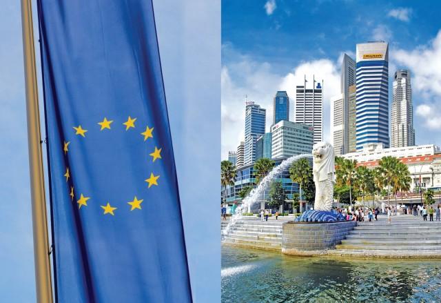Πρόσθετη ανάπτυξη του θαλάσσιου εμπορίου θα σημάνει η συμφωνία EE και Σιγκαπούρης