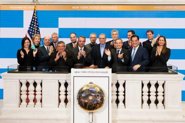 «Ημέρα Ελλάδος-Αμερικής» στο χρηματιστήριο της Νέας Υόρκης