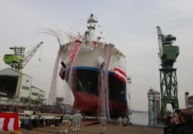 Το πρώτο πλοίο μεταφοράς υγροποιημένου υδρογόνου (Bίντεο)