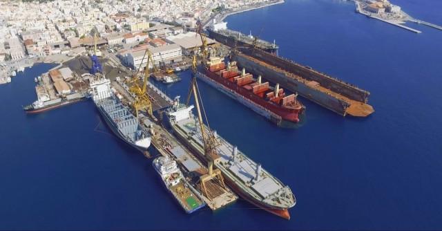 Νεώριο Σύρου: Οδοιπορικό στο ιστορικό ναυπηγείο (Bίντεo)