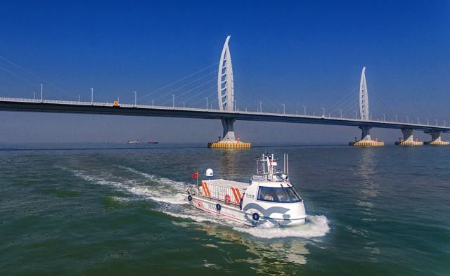 Στο νερό το πρώτο αυτόνομο πλοίο της Κίνας