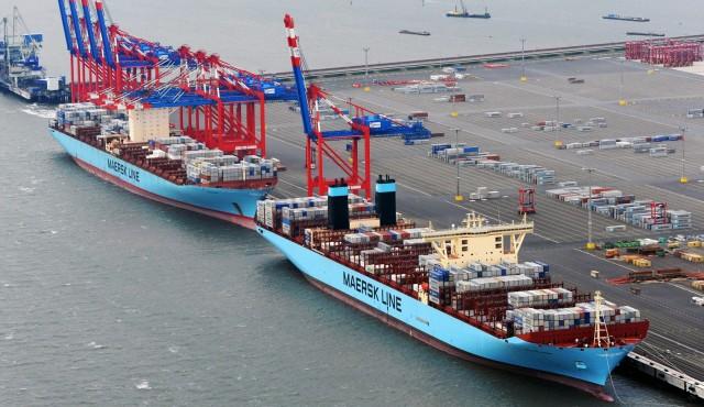 A.P. Moller-Maersk και Hutchison Ports έδωσαν τα χέρια στο Ρότερνταμ
