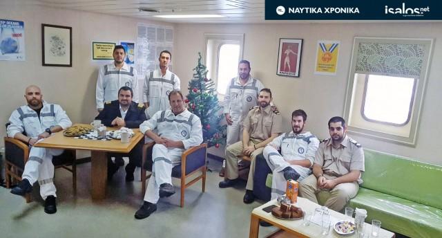 Xριστούγεννα εν πλω: Η διήγηση ενός πλοιάρχου