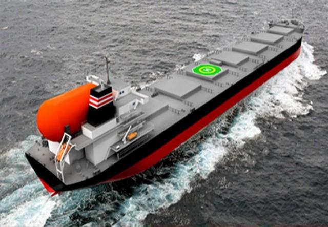 Γεγονός τα πρώτα πράσινα πλοία μεταφοράς γαιάνθρακα