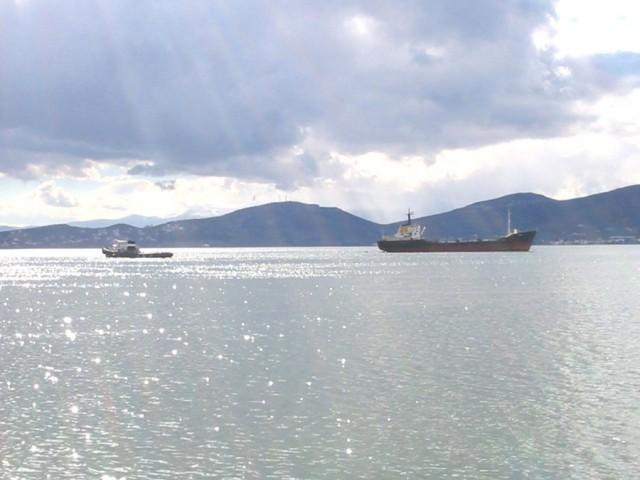Ακυβερνησία πλοίου στο Νοτιοανατολικό Αιγαίο