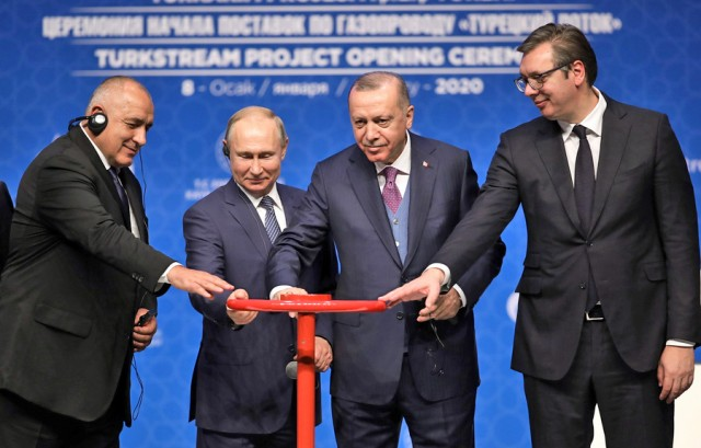 Εγκαίνια για τον αγωγό φυσικού αερίου TurkStream