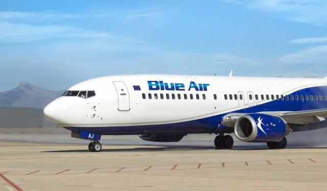 Blue Air: Νέα δρομολόγια από και προς την Ελλάδα