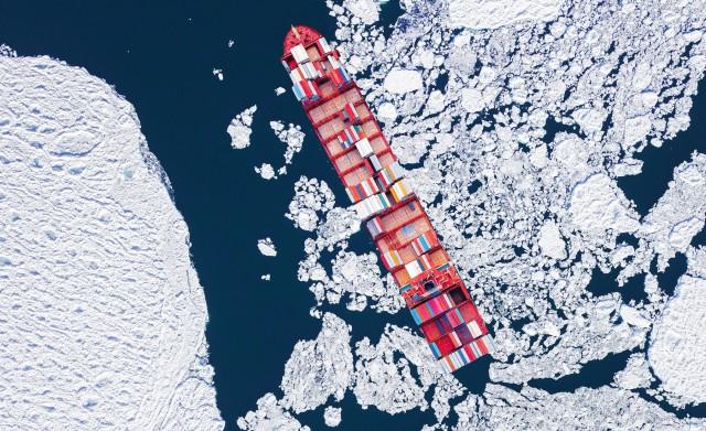 Βόρειο Πέρασμα: Εκτιμήσεις για «έκρηξη» των εμπορευματικών ροών το 2024
