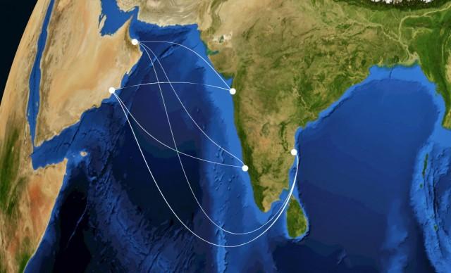 Συμφωνίες μεγατόνων στον Ινδικό Ωκεανό