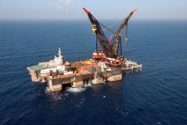 Αίγυπτος-Ισραήλ: Το πρώτο φορτίο φυσικού αερίου από το κοίτασμα Λεβιάθαν