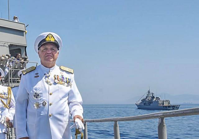 Στ. Πετράκης: Ο νέος Αρχηγός ΓΕΝ